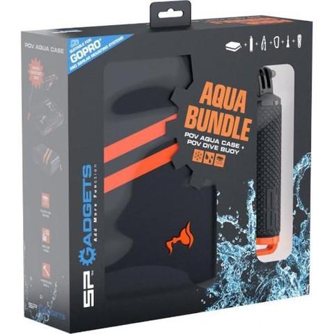 SP Aqua Bundle - Аква Набор (Водонепроицаемый бокс + монопод поплавок)