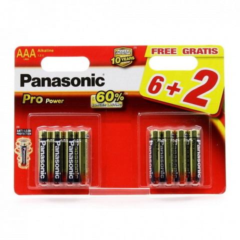Батарейки Panasonic Pro Power LR03, AAA (8/48) BL