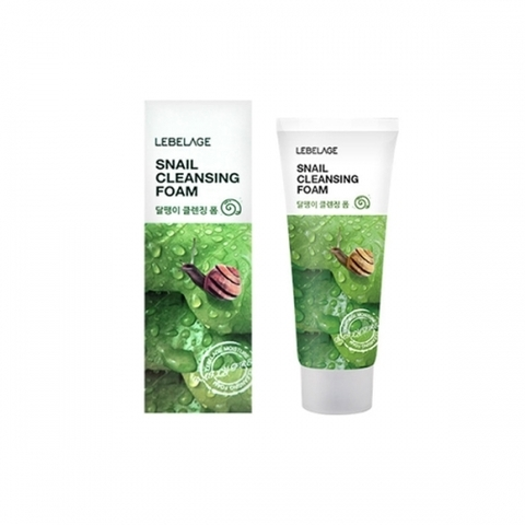 Очищающая пенка LEBELAGE Snail Cleansing Foam 100ml