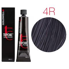 Goldwell Topchic 4R (темный махагон) - Cтойкая крем краска 60мл