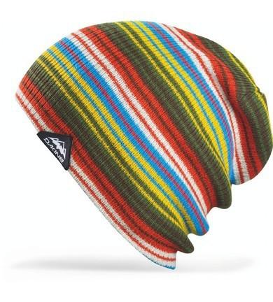 Длинные шапки Шапка-бини вязаная Dakine Wesley Blue 70.jpg