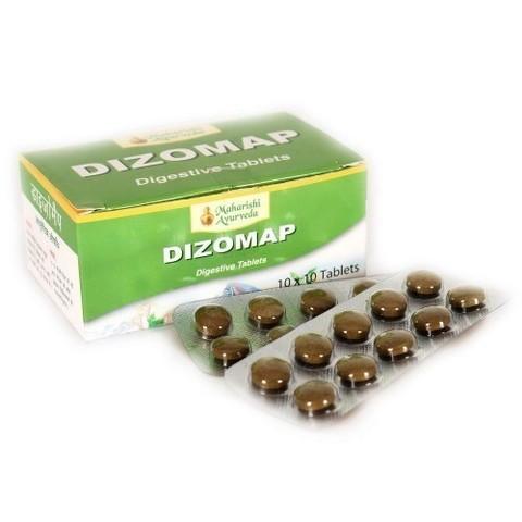 Maharishi Ayurveda Dizomap / Средство для пищеварения Дизомап, 100 таб.