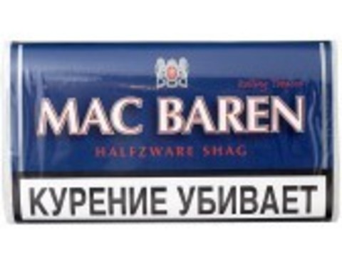 Табак M.B.сигарет. HALFZWARE SHAG (p40gr)
