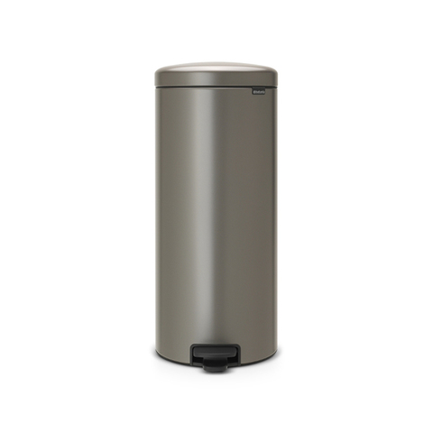 Мусорный бак newicon (30 л), Платиновый, арт. 114441 - фото 1