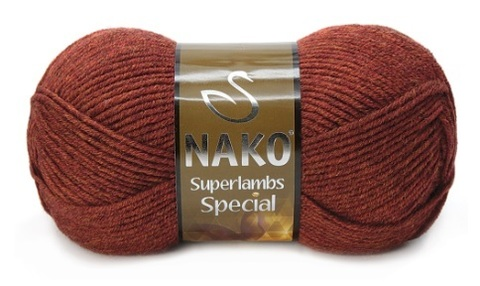 Пряжа Nako Superlambs Special арт. 5942 терракот