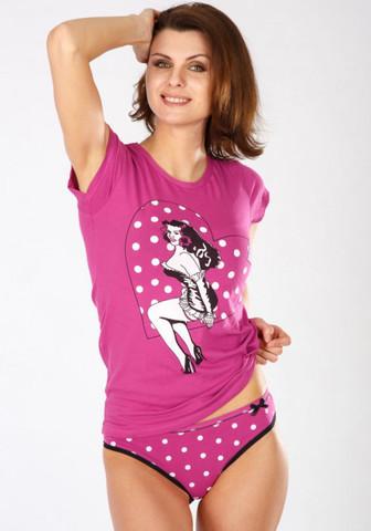 Яркая 'двойка' - футболка и трусики