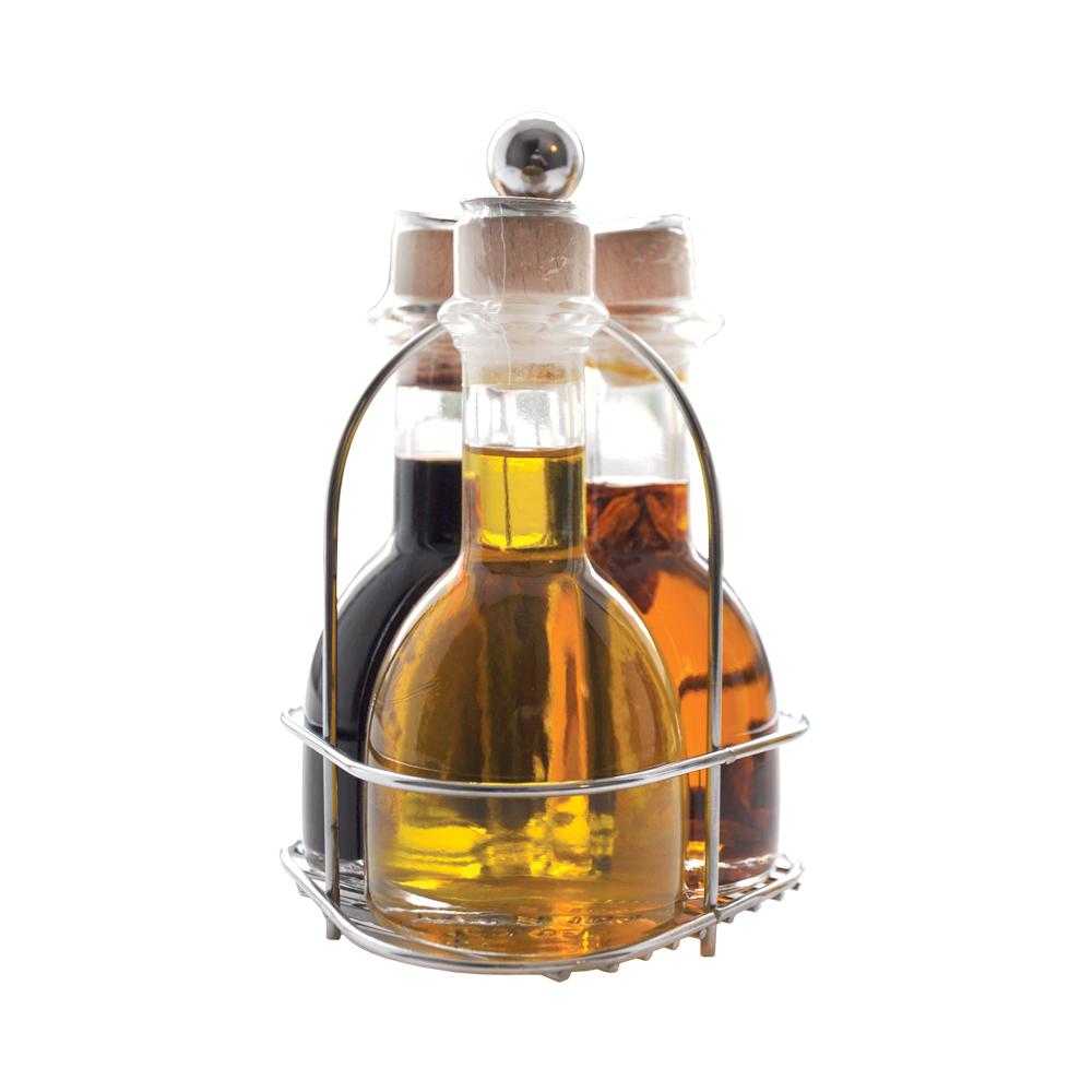 Набор Casa Rinaldi Маргарита (масло Extra Virgin, масло оливковое с острым перчиком, уксус бальзамический) 300мл