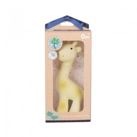Жираф из каучука  в подарочной упаковке