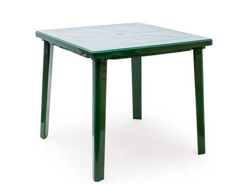 Стол квадратный. Цвет: Темно-зеленый