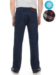 LN860 джинсы мужские утепленные, синие