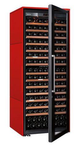 Винный шкаф EuroCave V Collection L красный сатин, максимальная комплектация