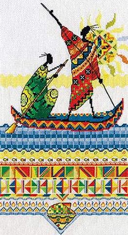 HM-738 Африка. Масаи. Рыбаки