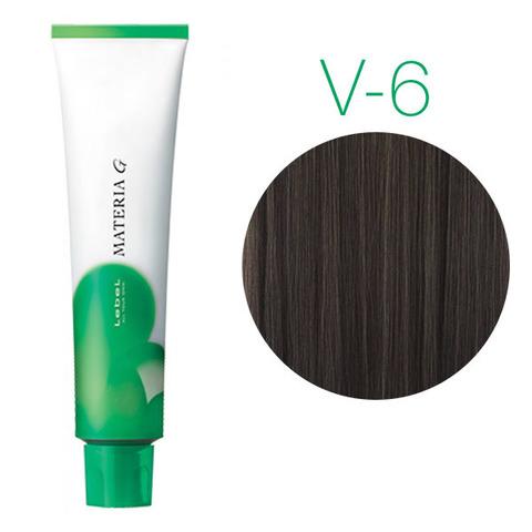 Lebel Materia Grey V-6 (тёмный блондин фиолетовый) - Перманентная краска для седых волос