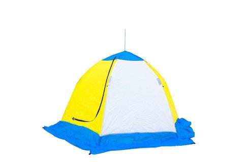 Палатка зимняя СТЭК ELITE 3 - местная трехслойнаяКопировать товар