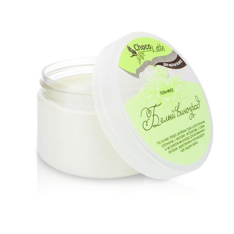 Гель-крем для мытья волос МУСС БЕЛЫЙ ВИНОГРАД с соком винограда, 280ml TM ChocoLatte