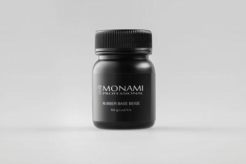 Monami Rubber Base BEIGE 50ml