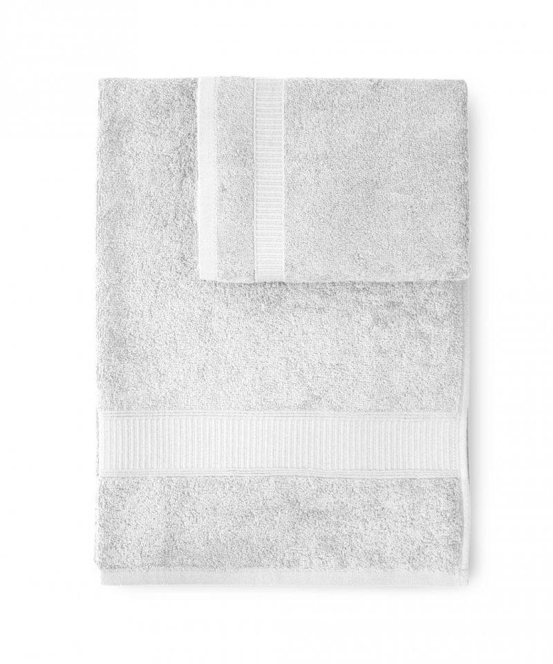 Набор полотенец 2 шт Caleffi Calypso белый
