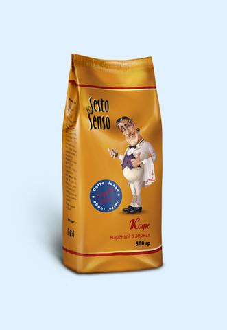 Лунго Simpatico Marco 0,5 кг кофе в зёрнах
