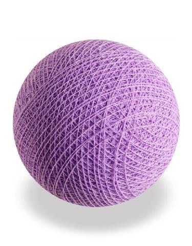 Хлопковый шарик сирень
