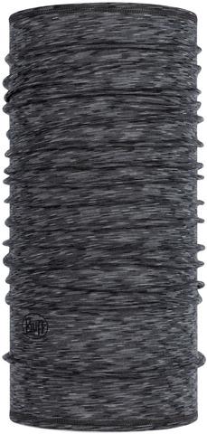 Тонкий шерстяной шарф-труба Buff Wool lightweight Graphite Multi Stripes
