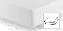 Простыня трикотажная 90-110x200 Elegante 8000 белая