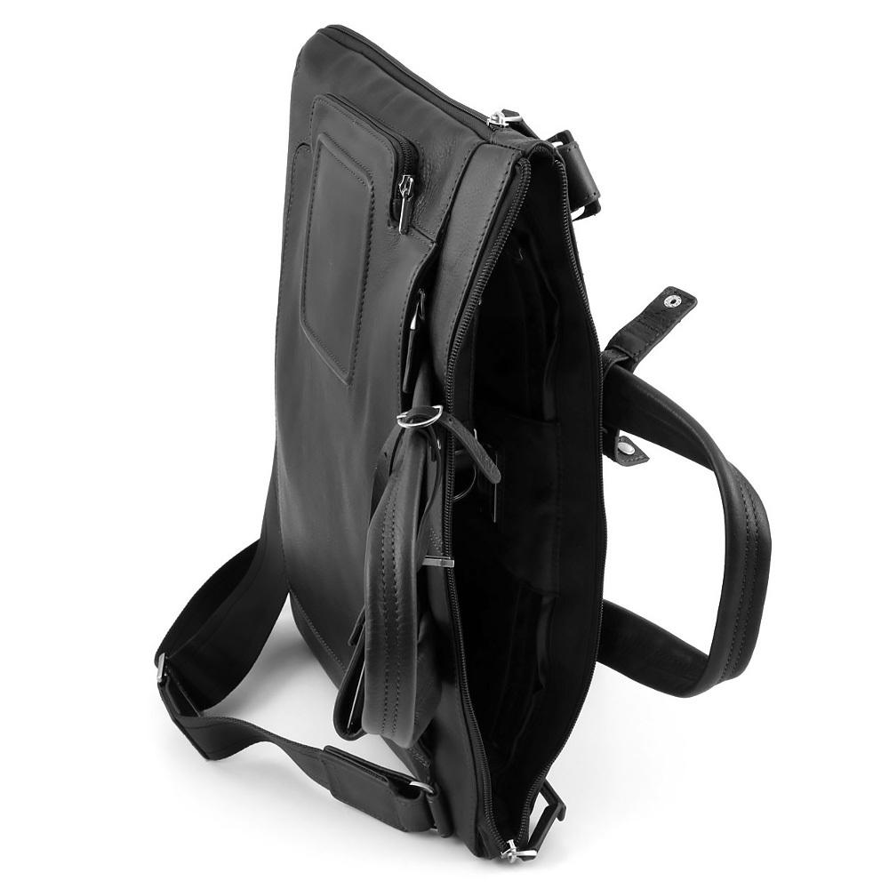 Сумка Piquadro Vibe, цвет черный, 40x28x4,5 см (CA1618VI/N)
