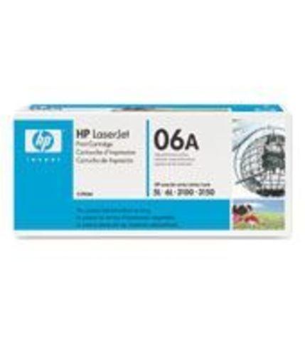Картридж HP C3906A для принтеров Hewlett Packard LaserJet 5L/ 6L / 3100/ 3150 (ресурс 2500 страниц)