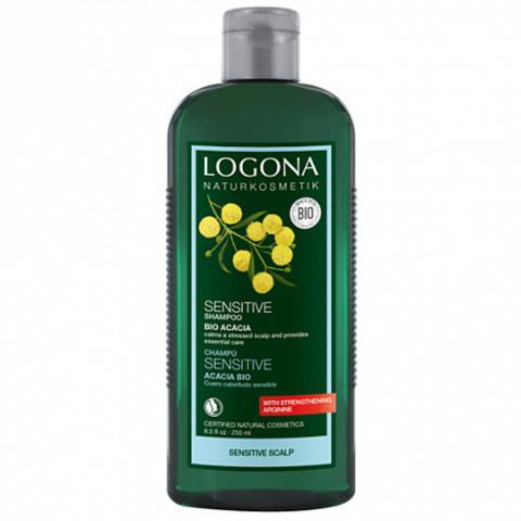 Шампунь для чувствительной кожи головы с Био-Акацией 250 мл (LOGONA)