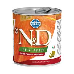 Фармина Pumpkin N&D 285 гр консервы для собак курица с тыквой и гранатом