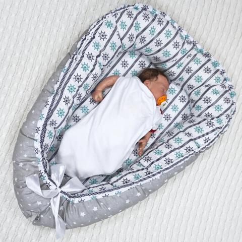 Farla. Кокон-гнездо для младенца Nest Морской сон