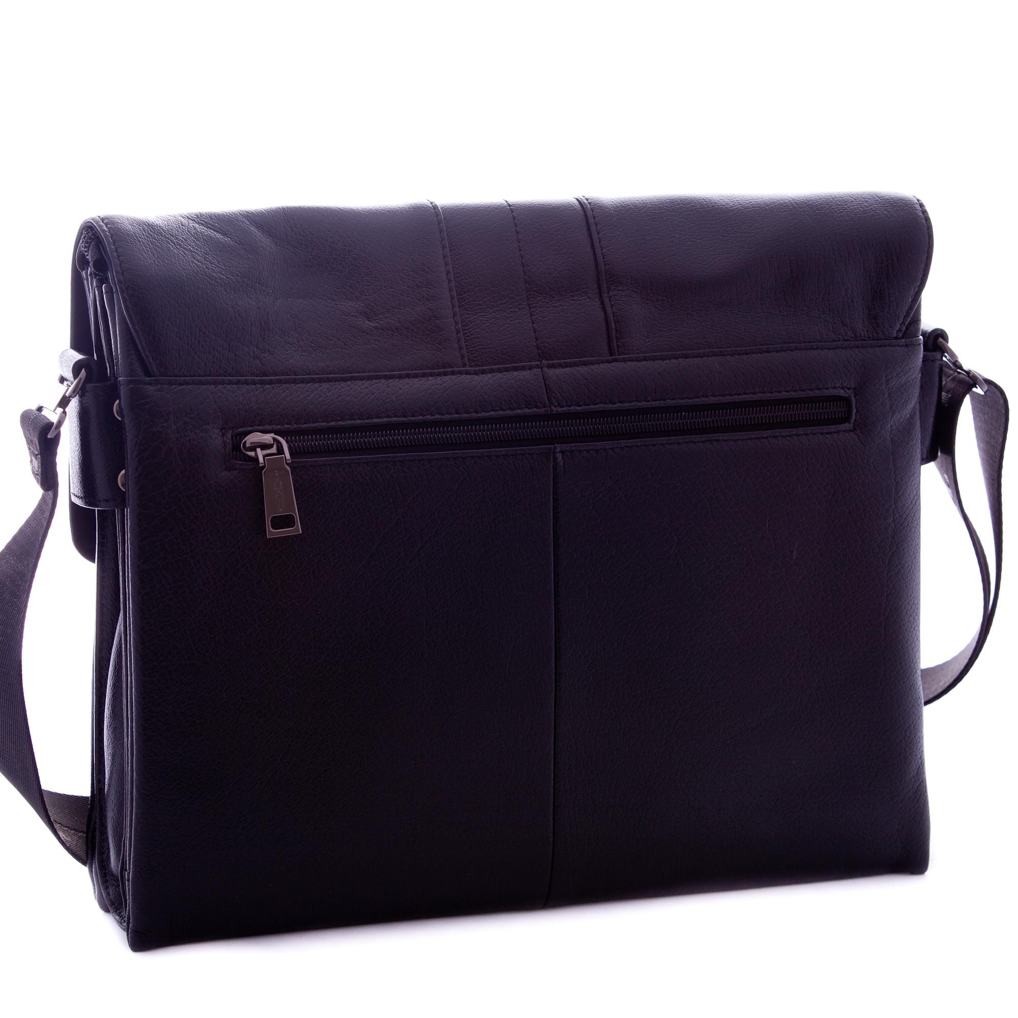 Купить мужскую сумку почтальон через плечо из кожи HT 0368 в интернет магазине Stylishbag.ru