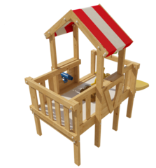 Детская игровая кровать-чердак Венди