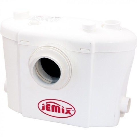STP-400 ЛЮКС Туалетный насос измельчитель JEMIX. Макс. Производ. до 100л/мин. Мощн. 400, Температура стоков 40*