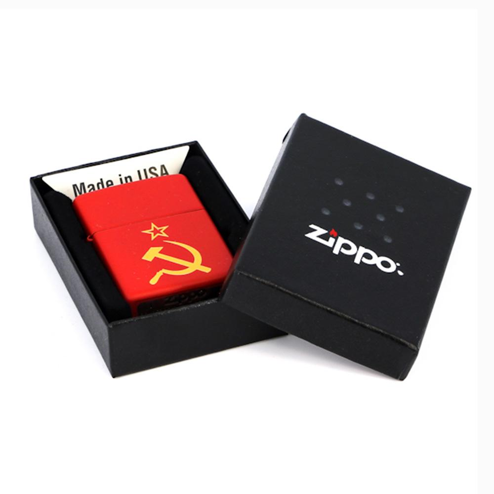 Зажигалка Zippo №233 Серп и молот