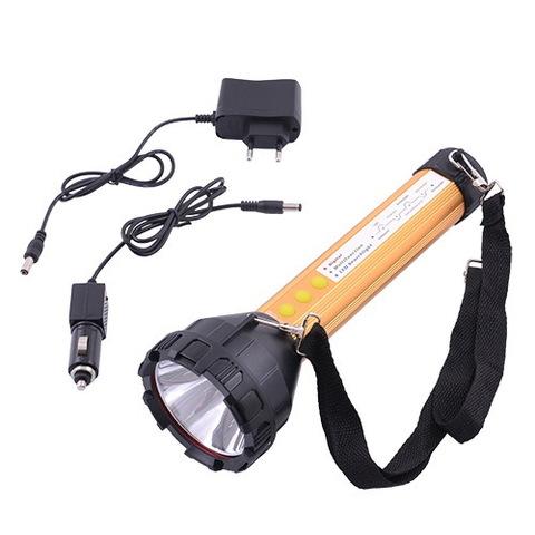Ф.ручной Police C66 (1Led+12SMD+1Red/1Blue), Lithium battery + 12V