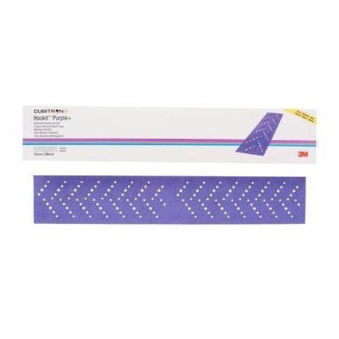 3М Полоски Hookit Cubitron Purple+ 70x396мм, Р180