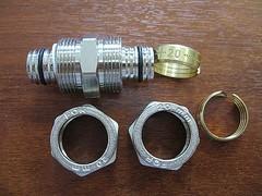 Муфта промежуточная, цанга/цанга, 20 мм х 20 мм, FORNARA