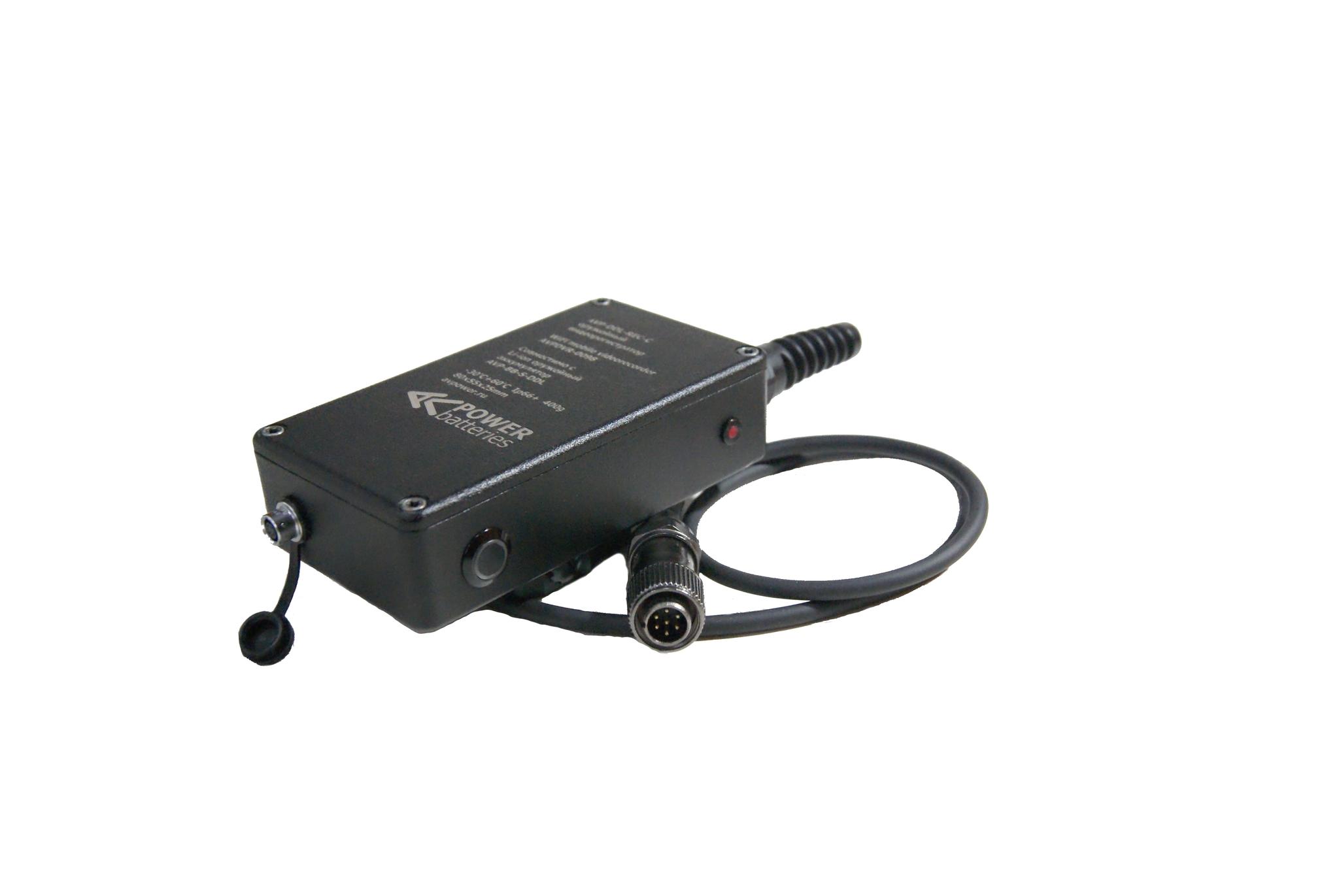 Оружейный видеорегистратор WiFi к оружейному аккумулятору