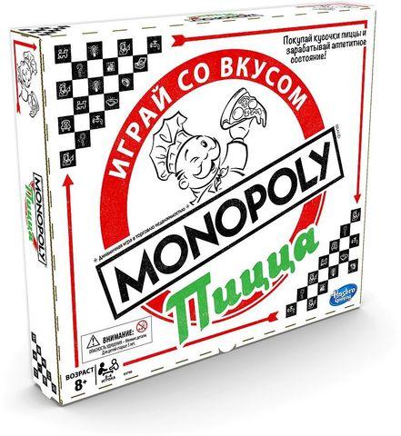 Hasbro: Игра настольная Монополия Пицца E5798 — Monopoly Pizza — Хасбро