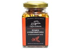 Фундук и кедровый орех в каштановом меду, 290г