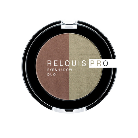 Relouis pro Тени для век Eyeshadow duo тон 110
