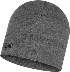 Шерстяная шапка Buff Hat Wool Midweight Light Grey Melange