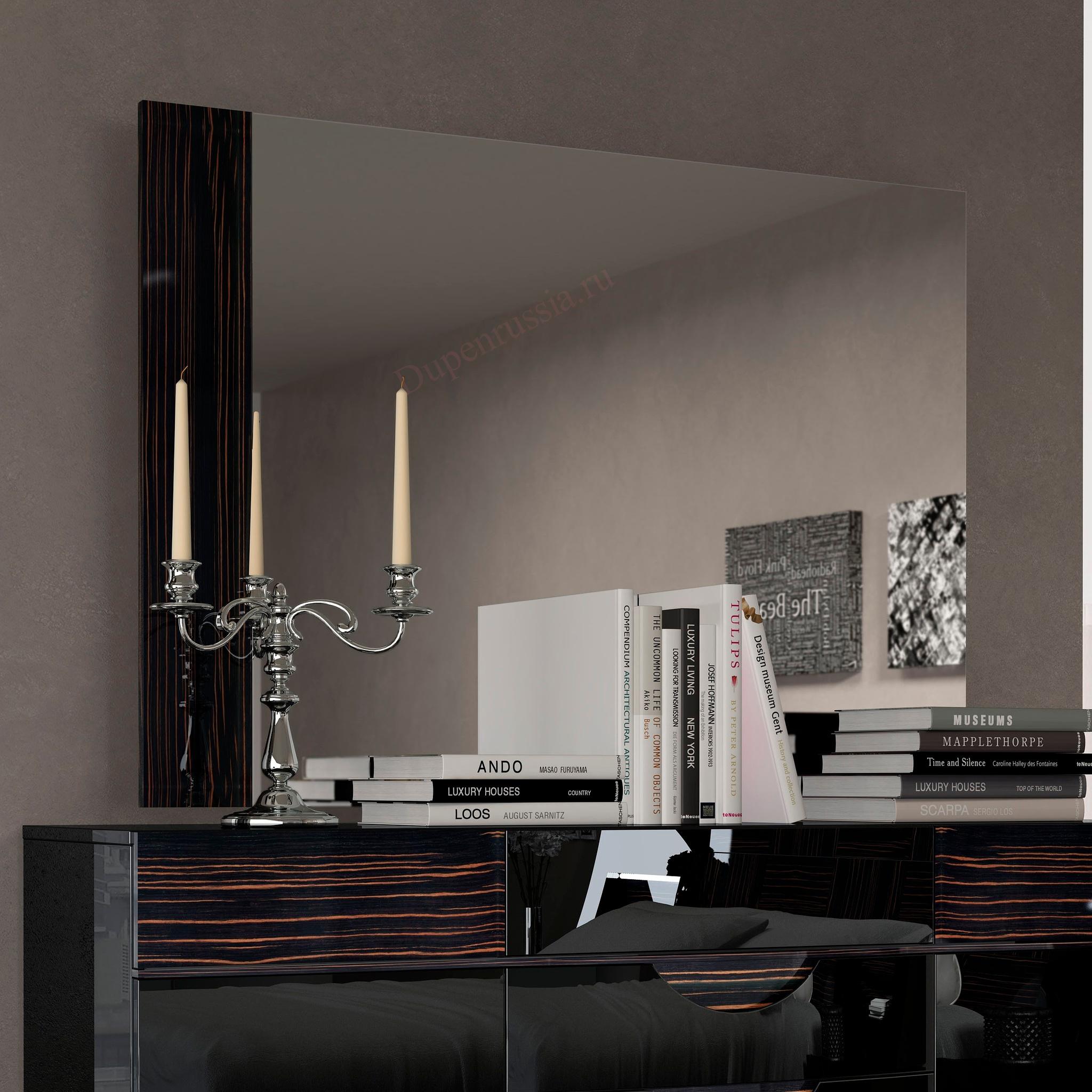 Зеркало FENICIA 5100 MARBELLA черный