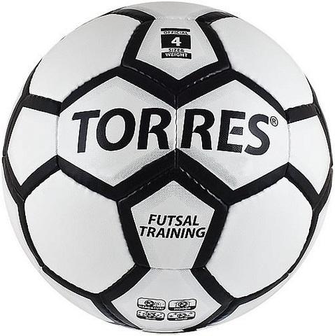 Мяч для мини-футбольный, футзальный TORRES Futsal Training № 4