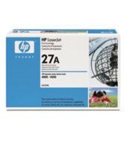 Картридж HP C4127A для принтеров Hewlett Packard LaserJet 4000 (ресурс 6000 страниц)