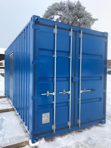 Цельносварной антивандальный контейнер для оборудования мощностью до 60 кВт, длина 3000
