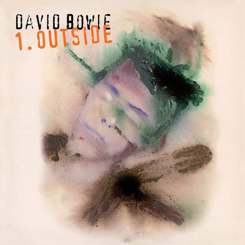 David Bowie / 1. Outside - The Nathan Adler Diaries: A Hyper Cycle (CD)