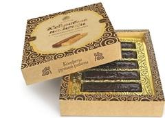 Кедровые палочки, Сибирский кедр, в шоколаде, 120 г.