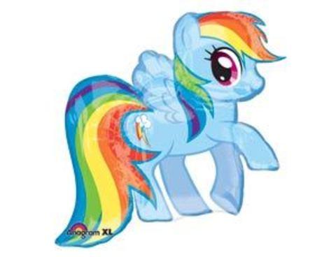 shop-shariki.ru Фольгированный шар My Little Pony радужная