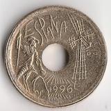 K6119, 1996, Испания, 25 песет Кастилия - Ла-Манча